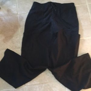 ScrubStar Size Small, black scrubs